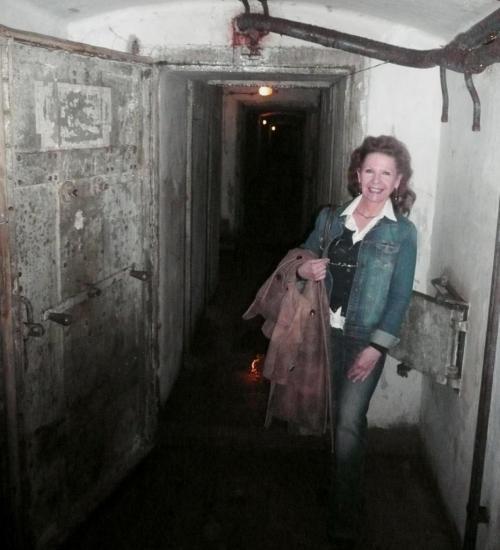 Visite de souterrains à moins 38 mètres,tout va bien.