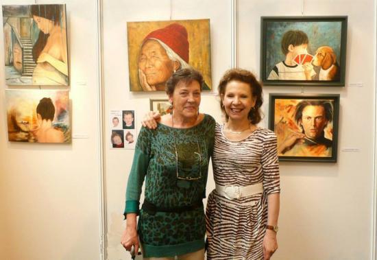 """Expo Danielle Bellefroid à """"ART SHOW"""" le 9 juin 2013 à Juprelle"""