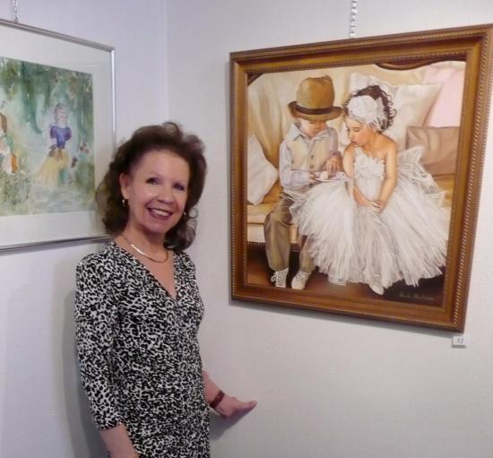 FRANCOF'ART 2013 avec Nicole Marbaise