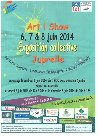 Affiche art show