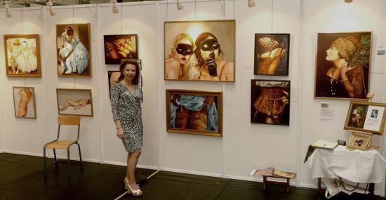 Expo art show a juprelle belgique